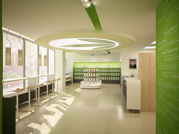 Herbalife Concept Store Minsk On Behance