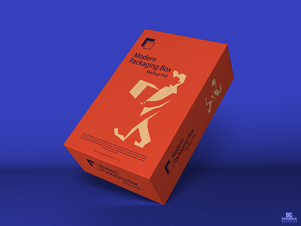 Download Free Modern Packaging Box Mockup PSD on Behance