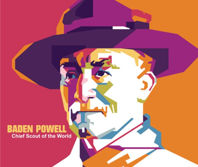 Baden Powell In Wpap On Behance