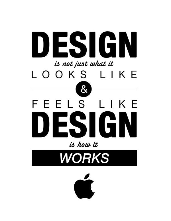 steve jobs quote poster on behance