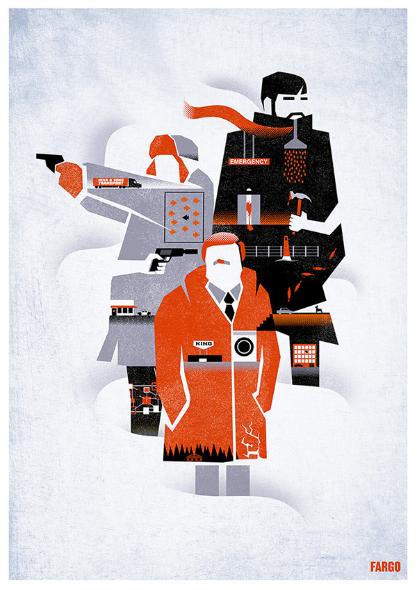 Fargo TV Art Series Poster on Behance