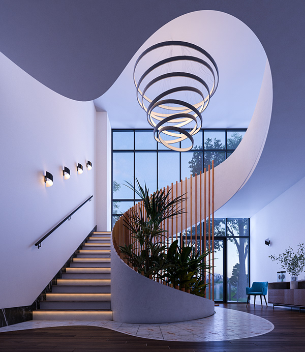 Spiral Staircase Design on Behance