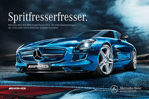 MercedesBenz quotSLS AMG Electric Drivequot on Behance