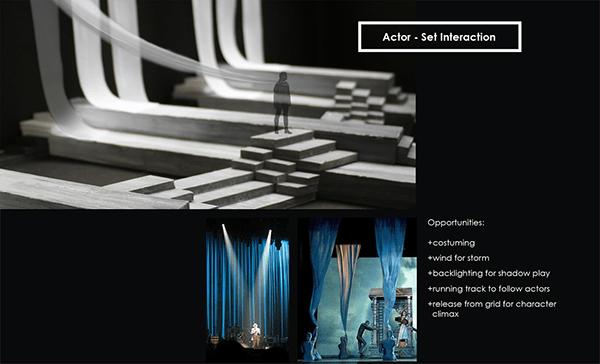 King Lear Set Design On RISD Portfolios