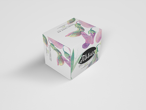 Download Square Tissue Box Mockup on Behance