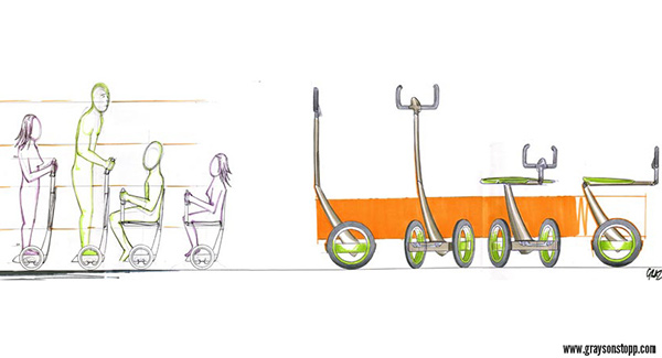 EAZ Disabled Mobility Device on Behance
