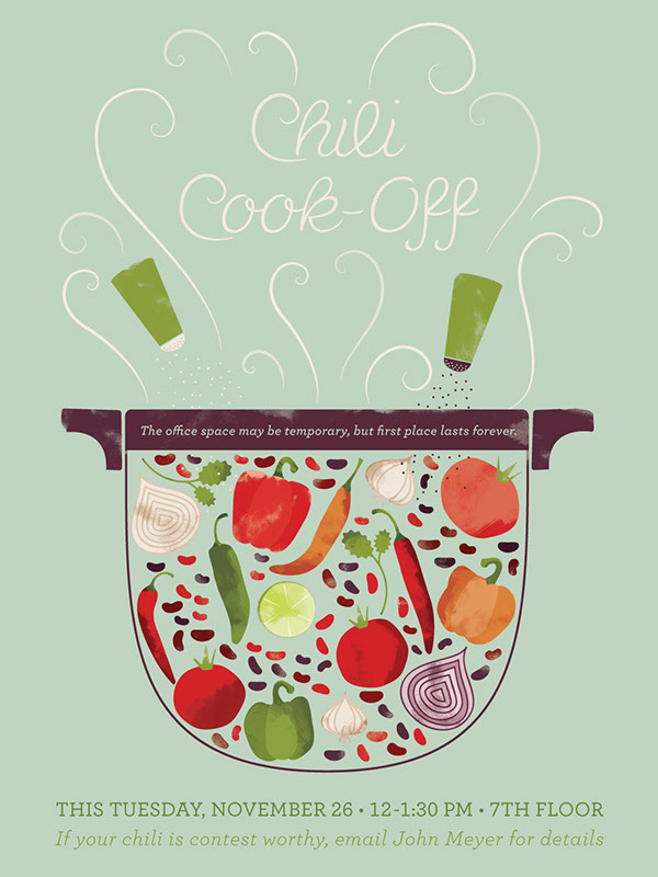 FH Chili Cook Off Poster On Behance