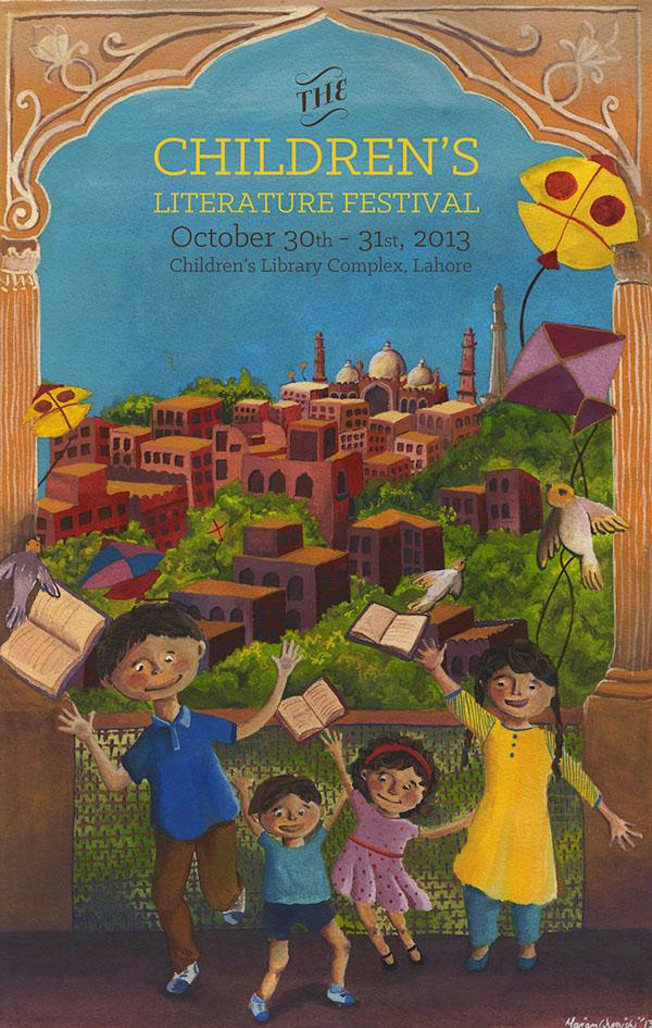 Poster for the Children's Literature Festival on RISD ...
