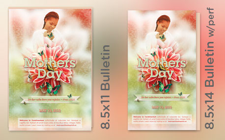 Mothers Day Church Flyer, Mailer and CD Template on Behance