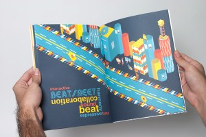 Paper City: Beat Street on Behance