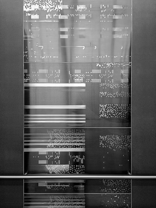 DISTORTED CARTOGRAPHY Elevator Wall Art On Behance