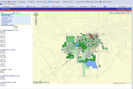map campus map ufl map » Free Wallpaper for MAPS   Full Maps