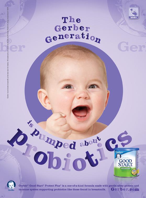 Gerber Baby Food : tvc, print, online, outdoor on Behance