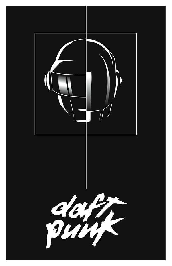 daft punk posters on aiga member gallery