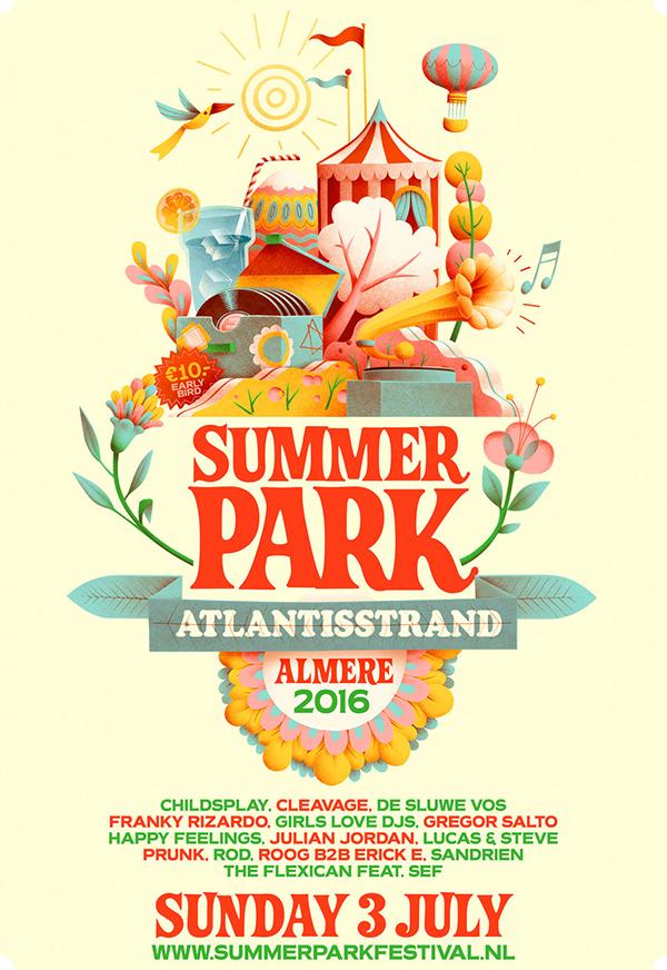 Summer Park Festival 2016 On Behance