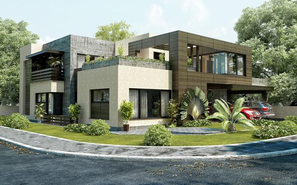 Mr. Shafique's Residence Exterior On Behance
