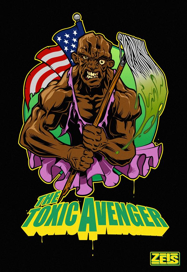 The Toxic Avenger on Behance