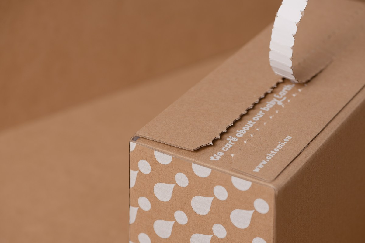 Example of corrugated packaging