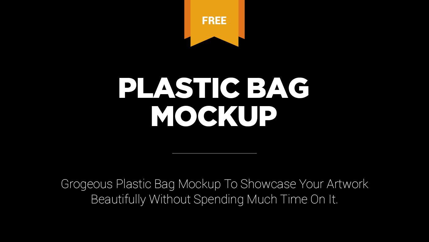 · can be customized to fit any brand or business if being authorized. Free Plastic Bag Mockup On Behance