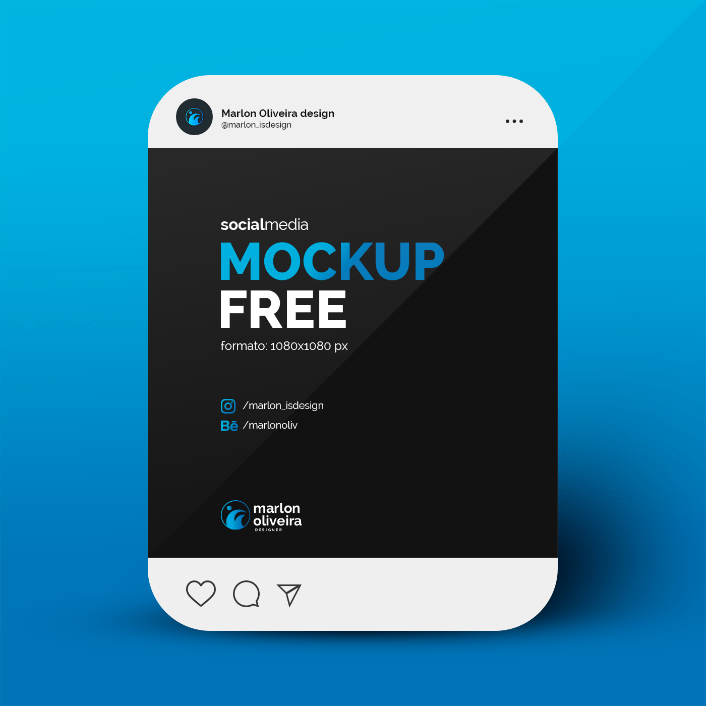 And it all adds up: Post Insta Free Mockup Socialmedia On Behance
