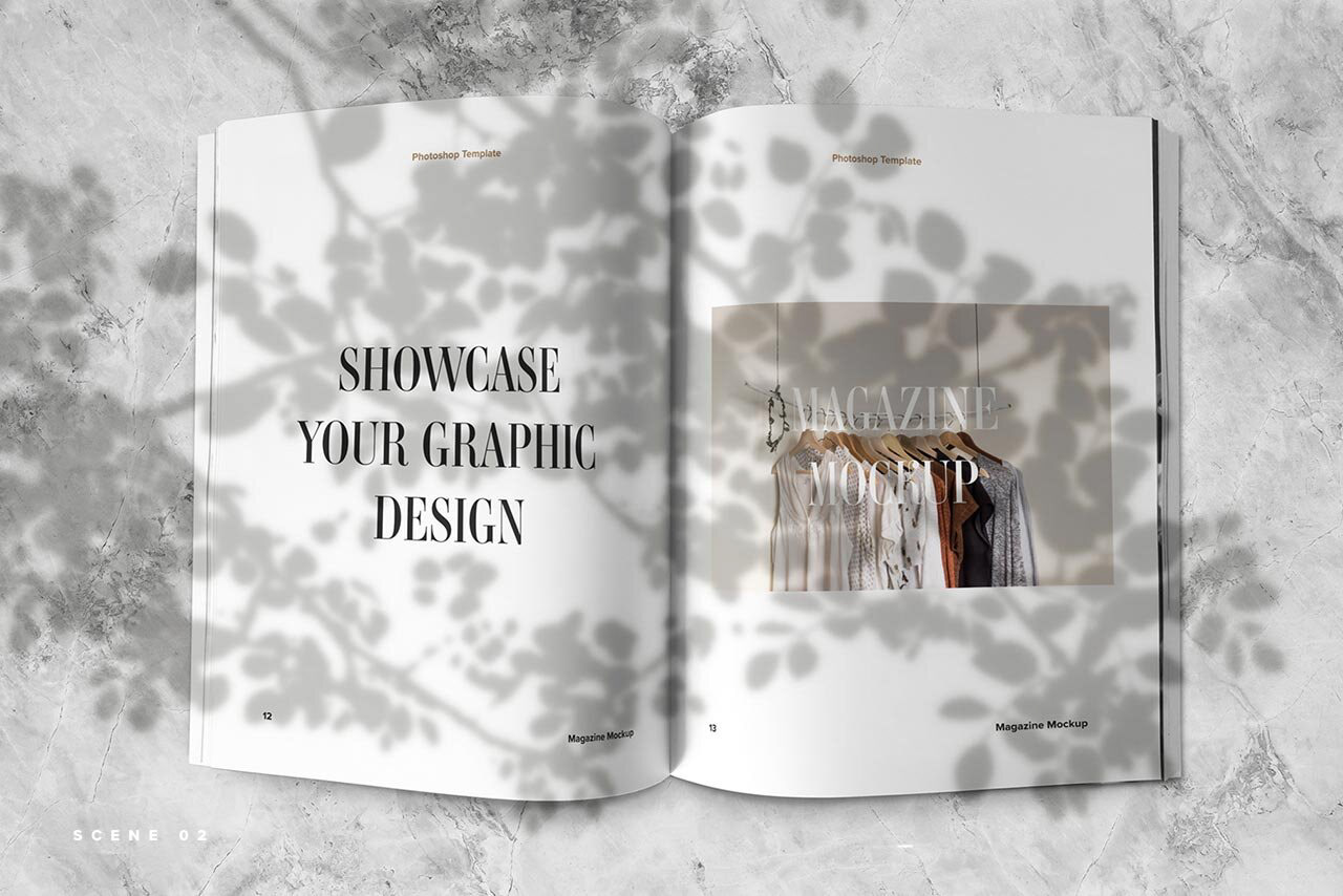 20+ template teratas majalah mockup psd (desain spread & sampul). Free Magazine Spread Mockup On Behance