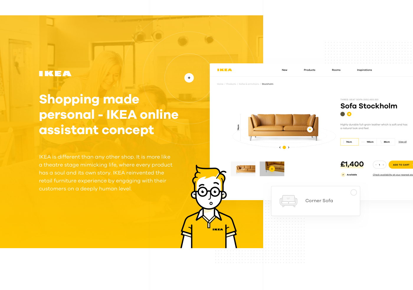 Shopping Made Personal Ikea Online Experience Concept On