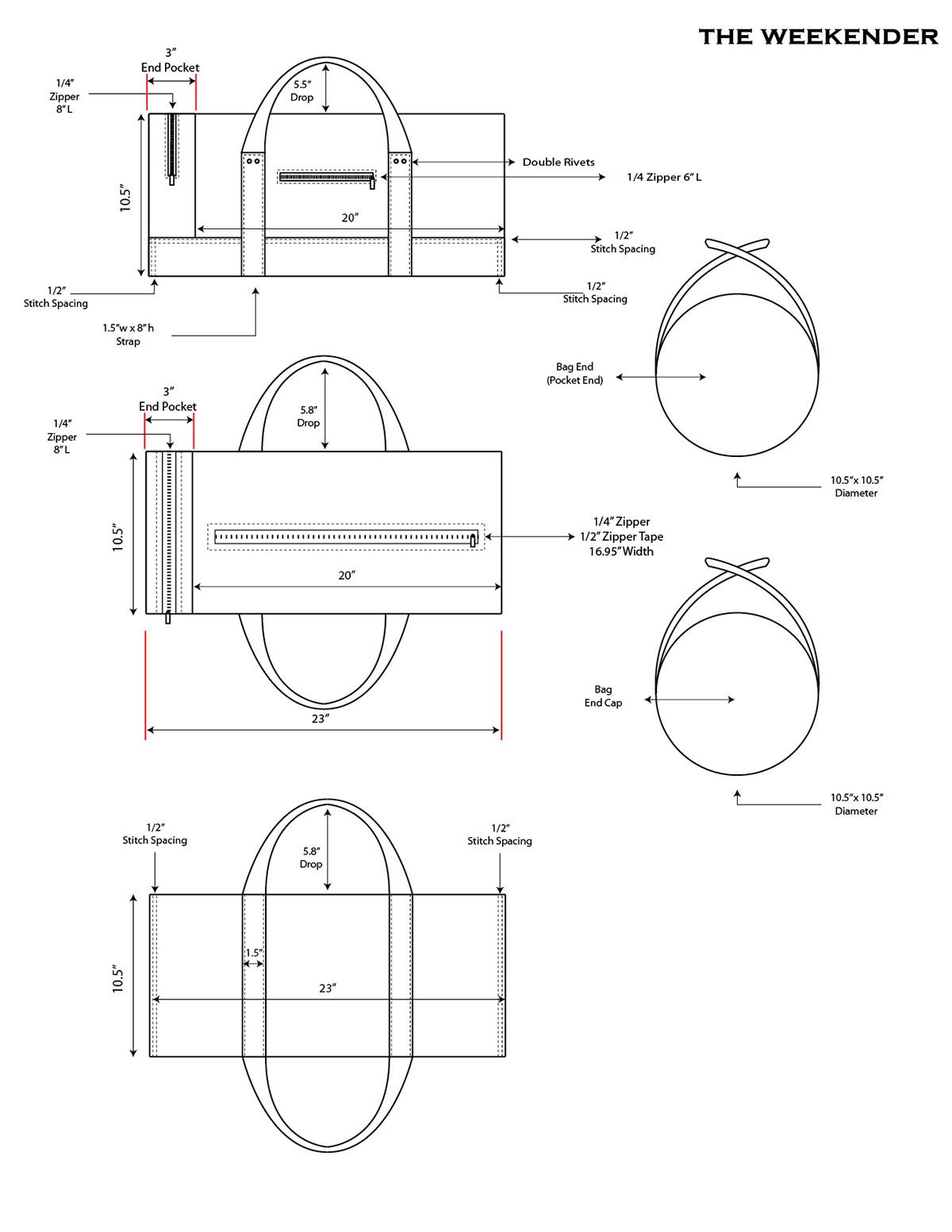 Duffel Bag Sketch On Behance