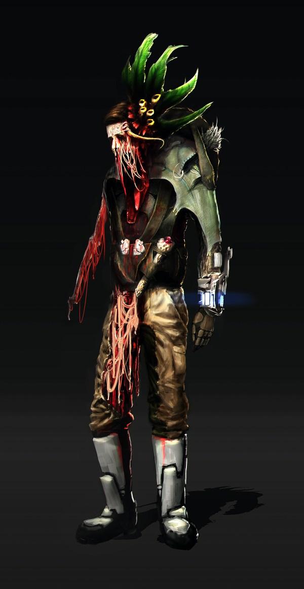 SciFi Survivor Zombie Lineup on Behance