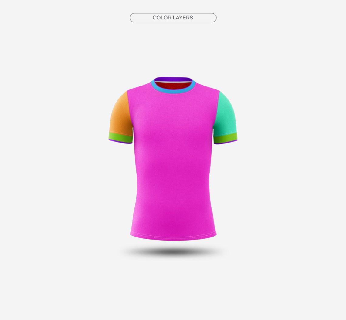 Download Men's Soccer Jersey Mockup V2 on Behance