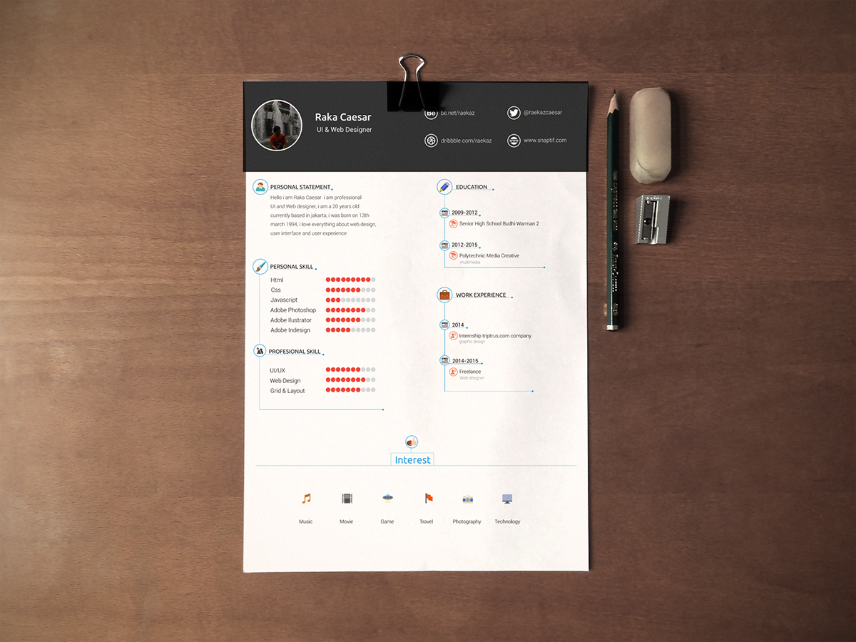 What they all agree upon, however, is that the template a job seeker chooses must match. Resume Cv Template Free Download On Behance