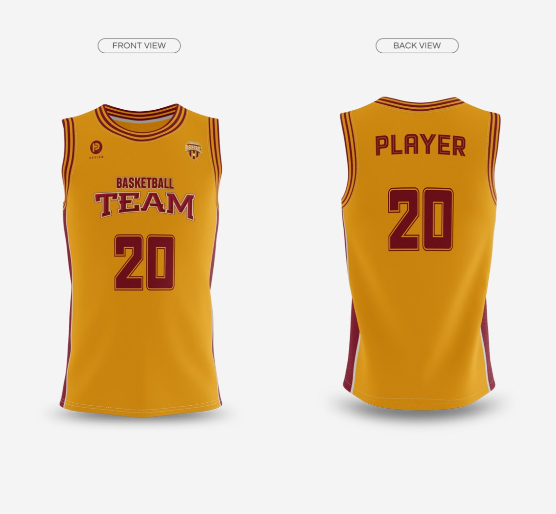Download 49+ Mens V-Neck Basketball Jersey Mockup Back View Images ...