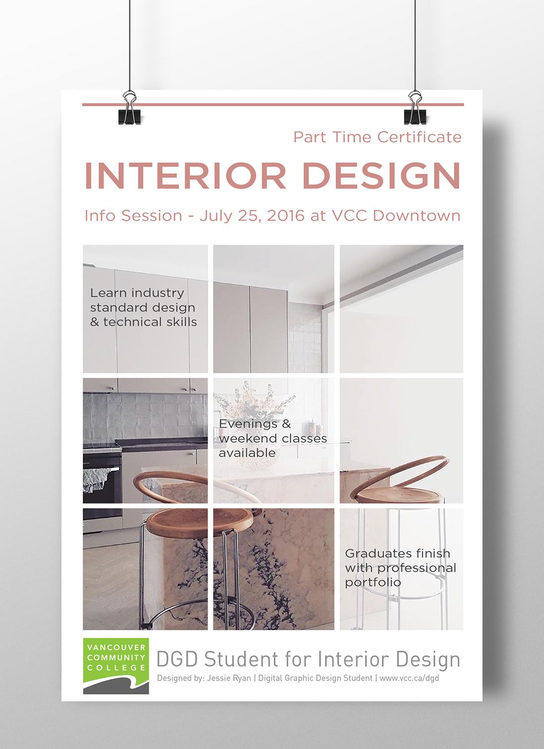 interior design info poster on behance