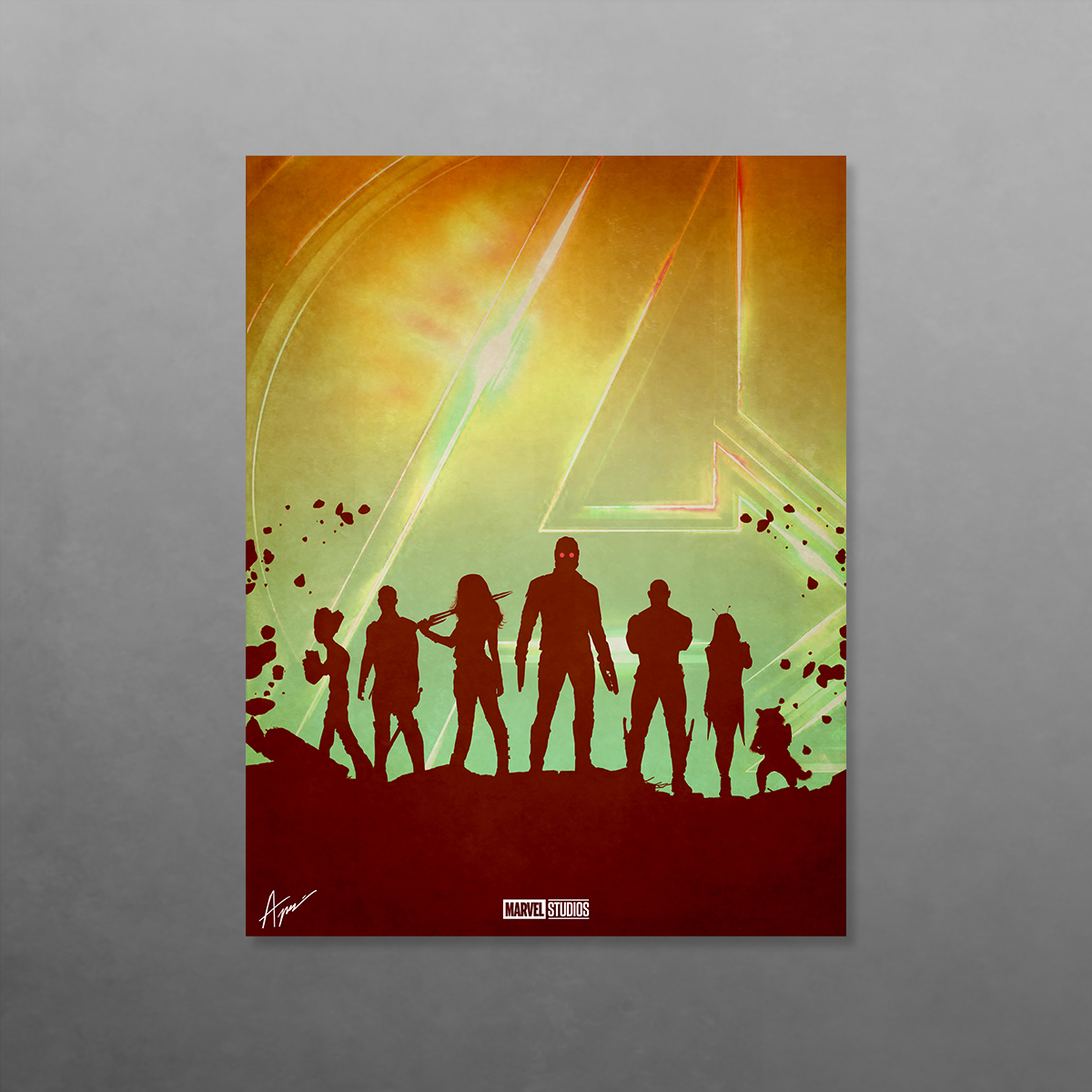 Avengers: Infinity War Illustrated Posters on Behance