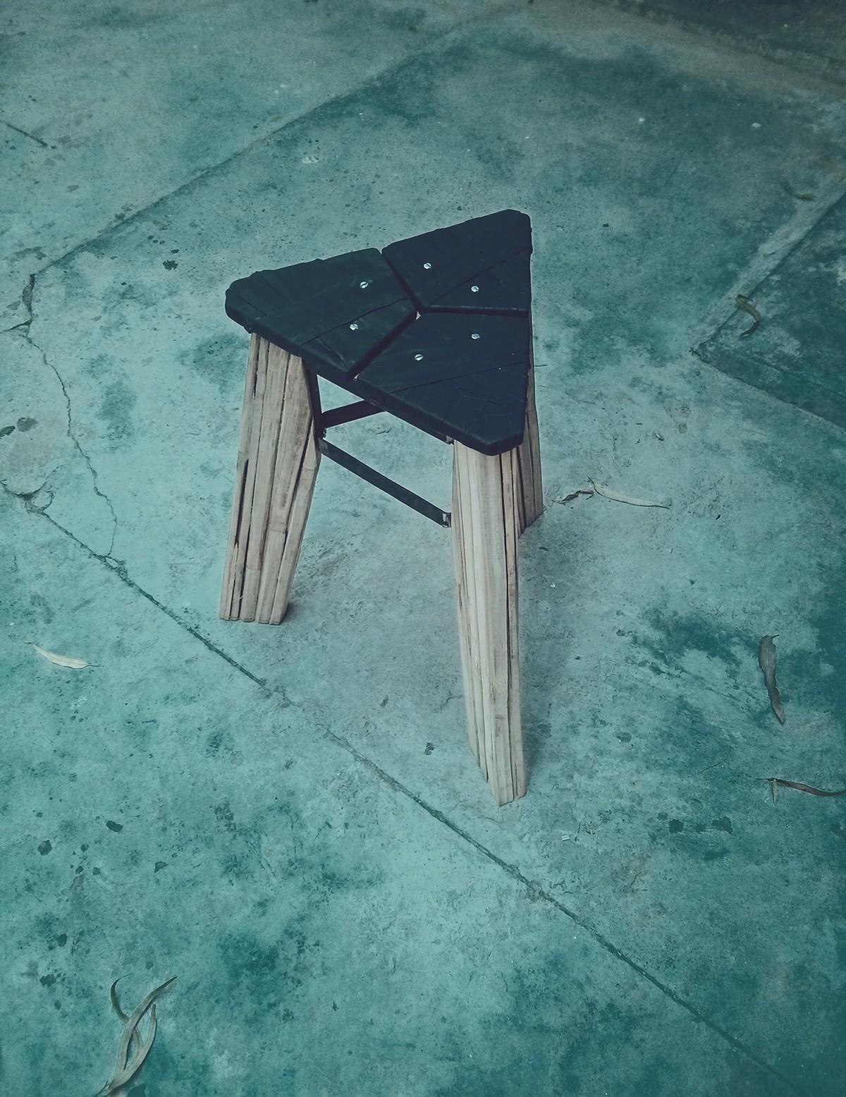 x stool on Behance