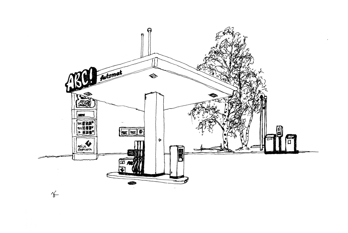 Gas Stations On Behance