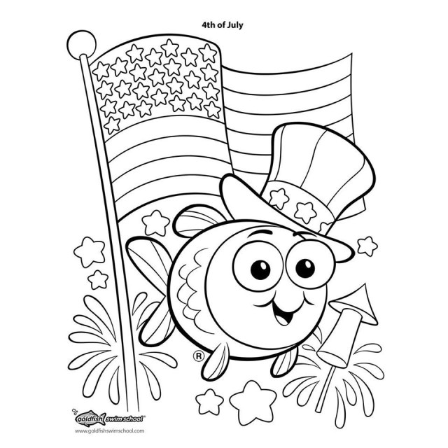 Coloring Pages for Goldfish Swim School on Behance