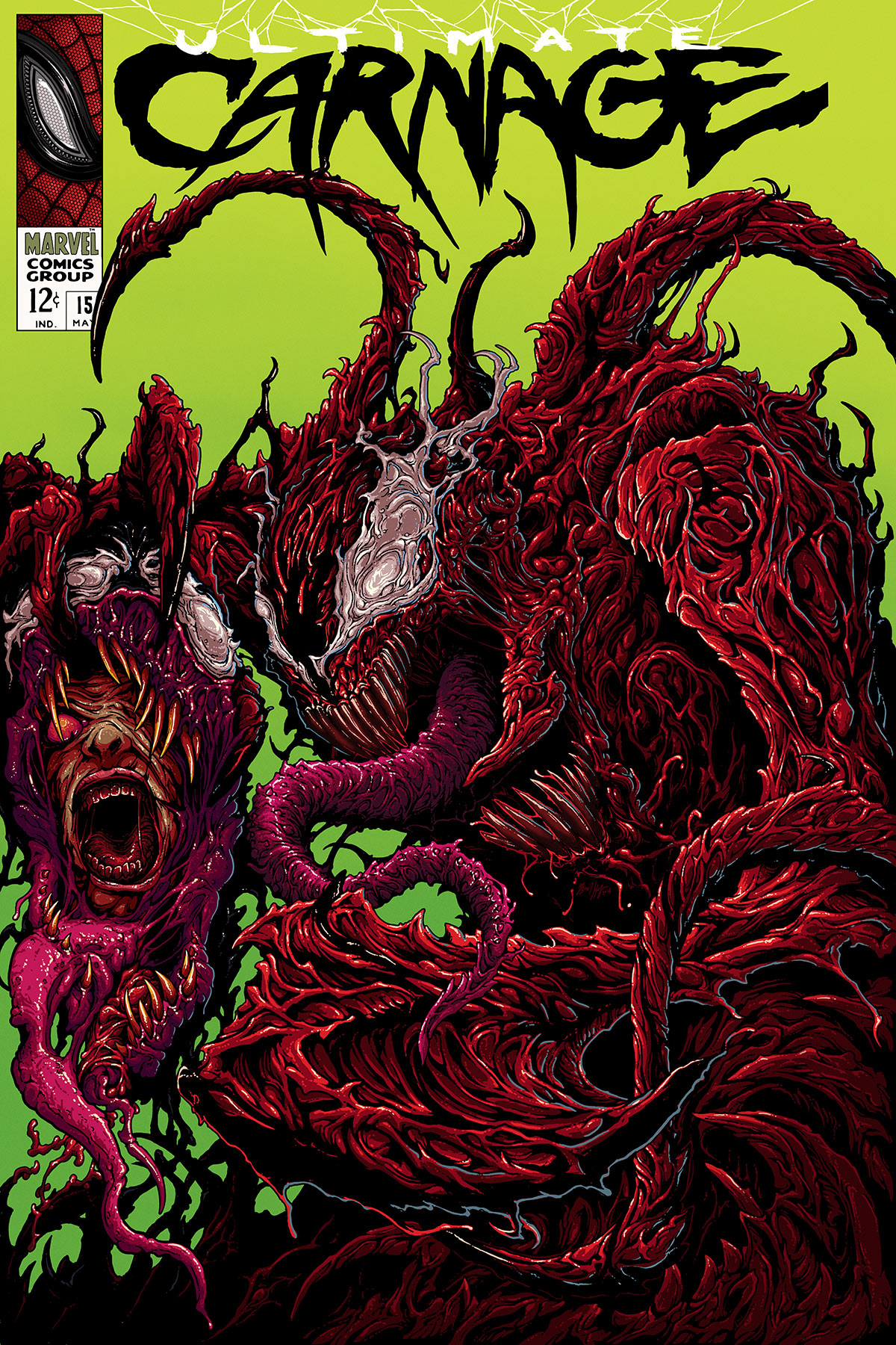 Carnage Comic Cover on Behance