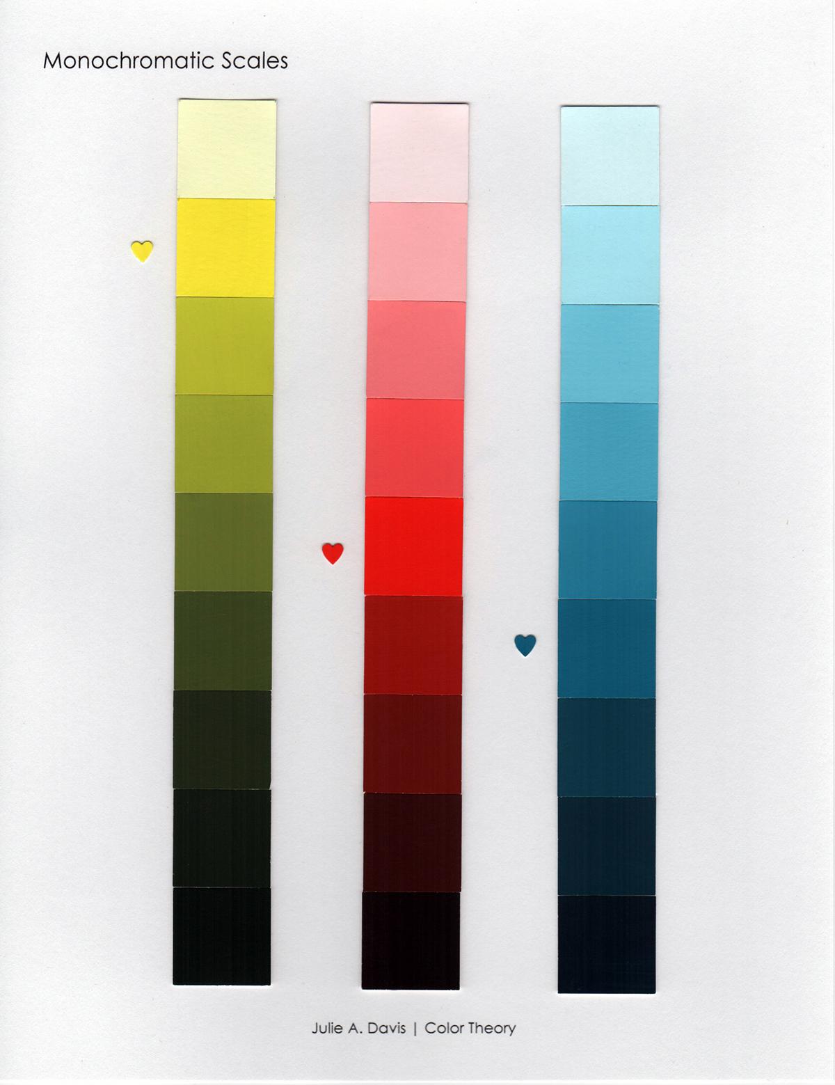 Monochromatic Scales On Behance