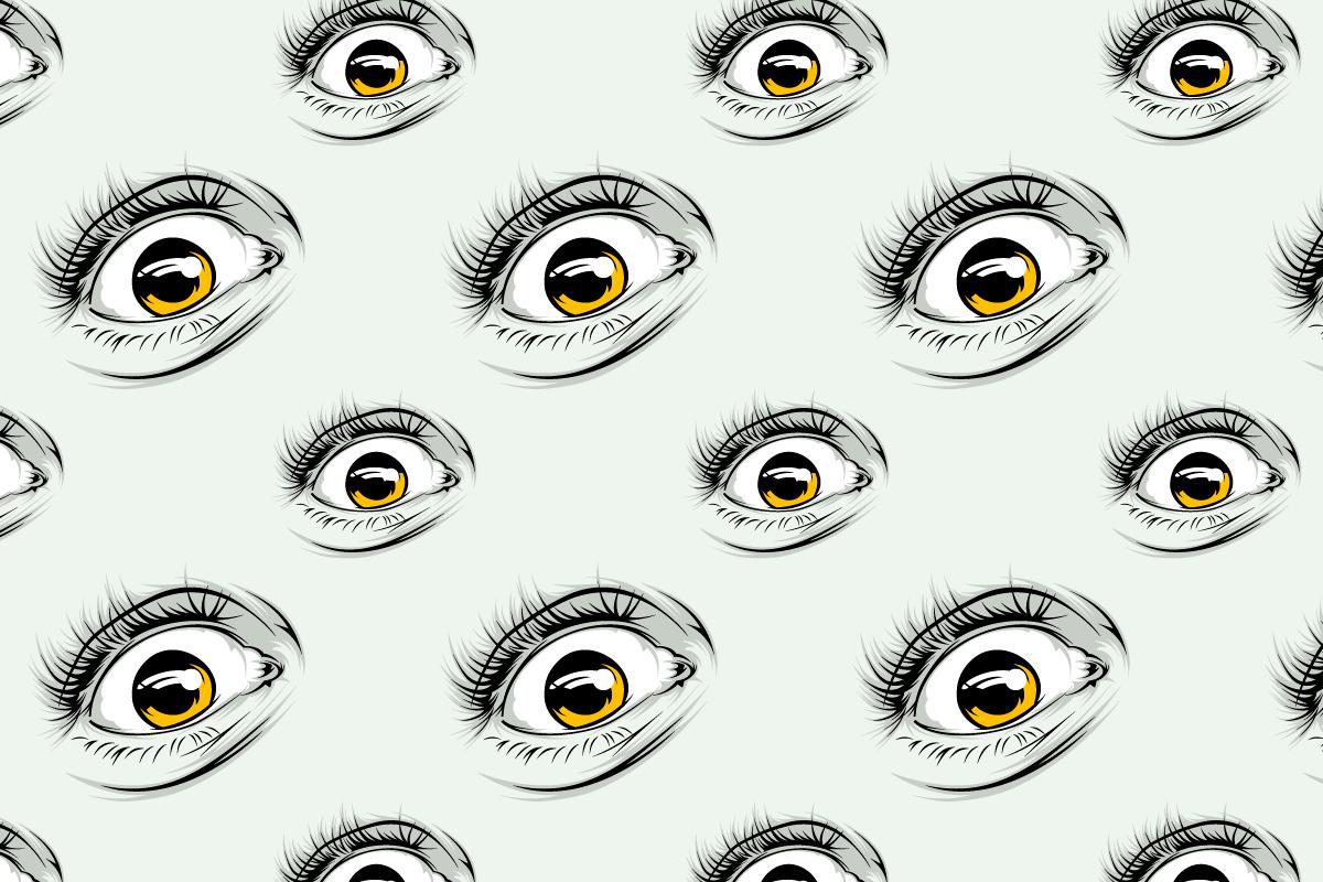Stickin In My Eye Patterns On Behance