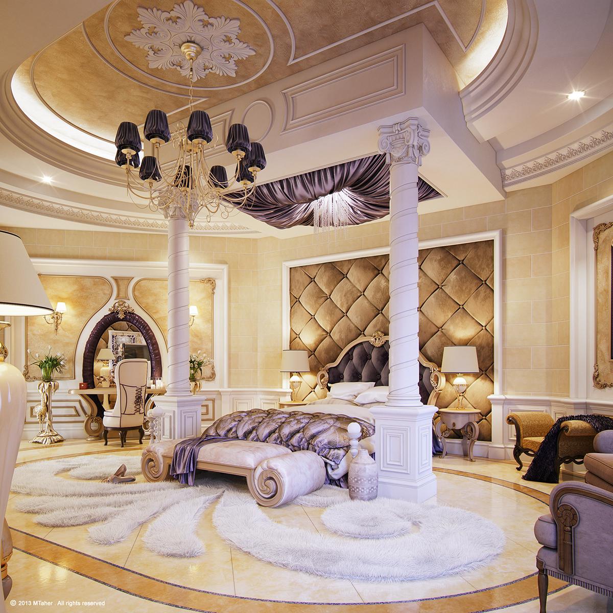 """Luxury """"Master Bedroom"""" on Behance on Luxury Master Bedroom  id=86475"""