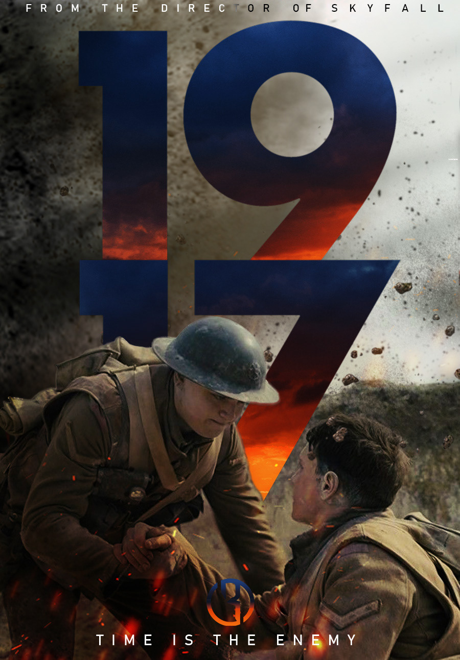 1917 movie poster on behance