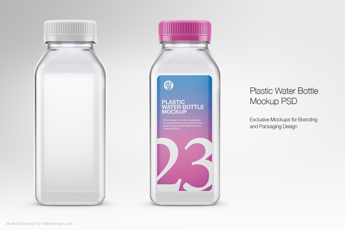Download Bottle Mockup Design Yellowimages