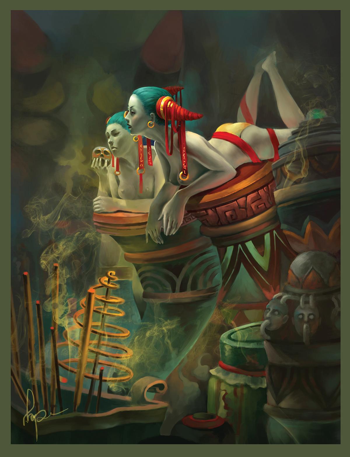 Goblin illustration on Behance