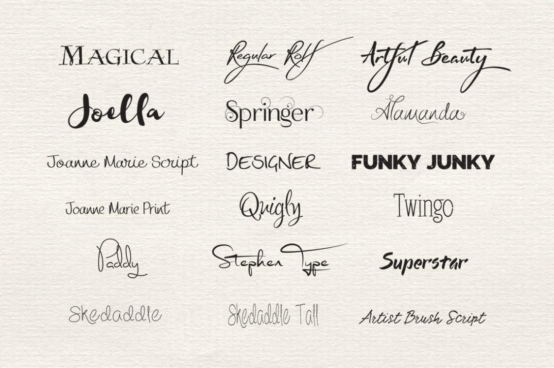 Download Funky Font Bundle on Behance