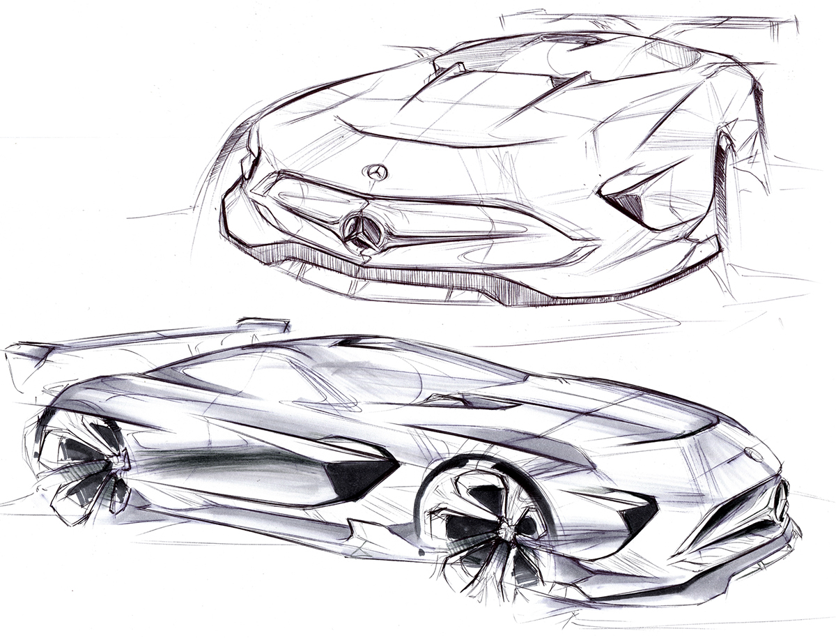 Automotive Sketchbook Ii On Behance