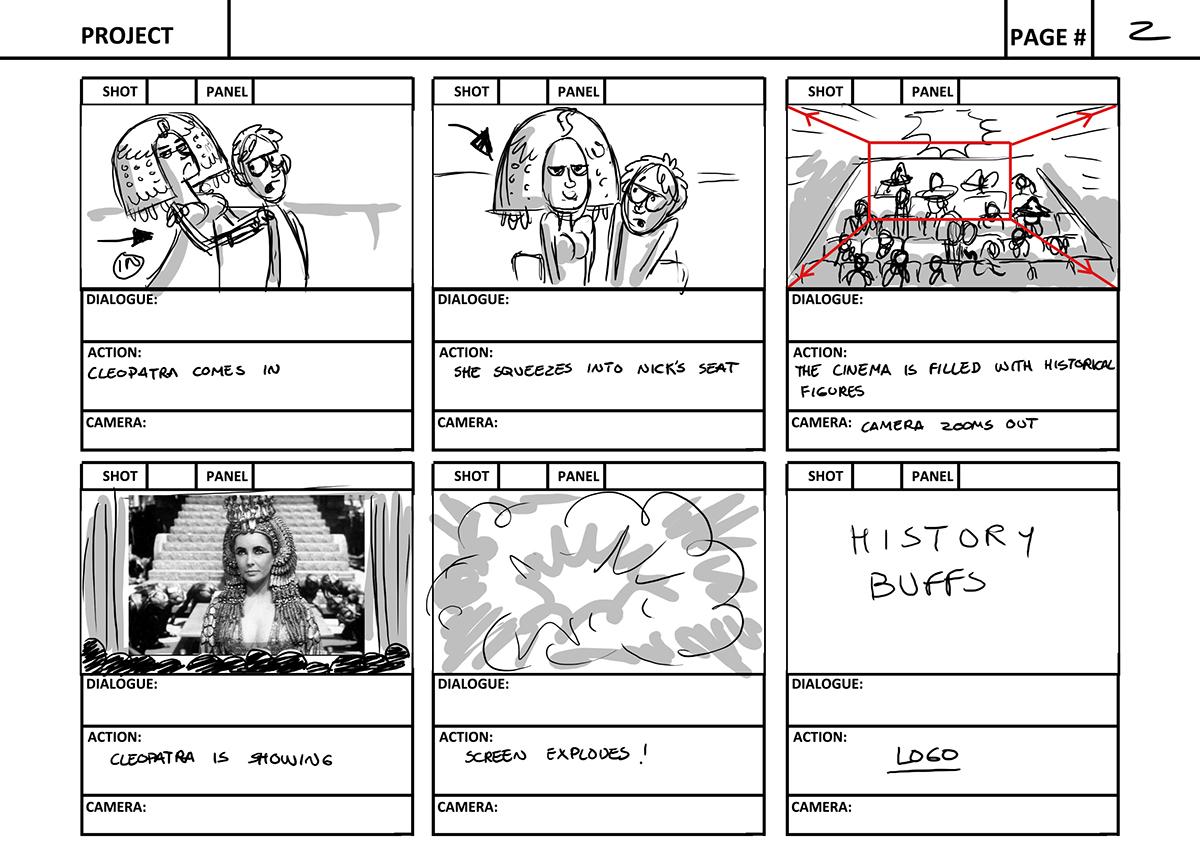 History Buffs intro V2 on Behance