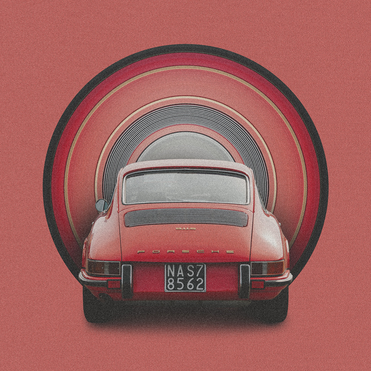 porsche 911 s vintage posters 2020
