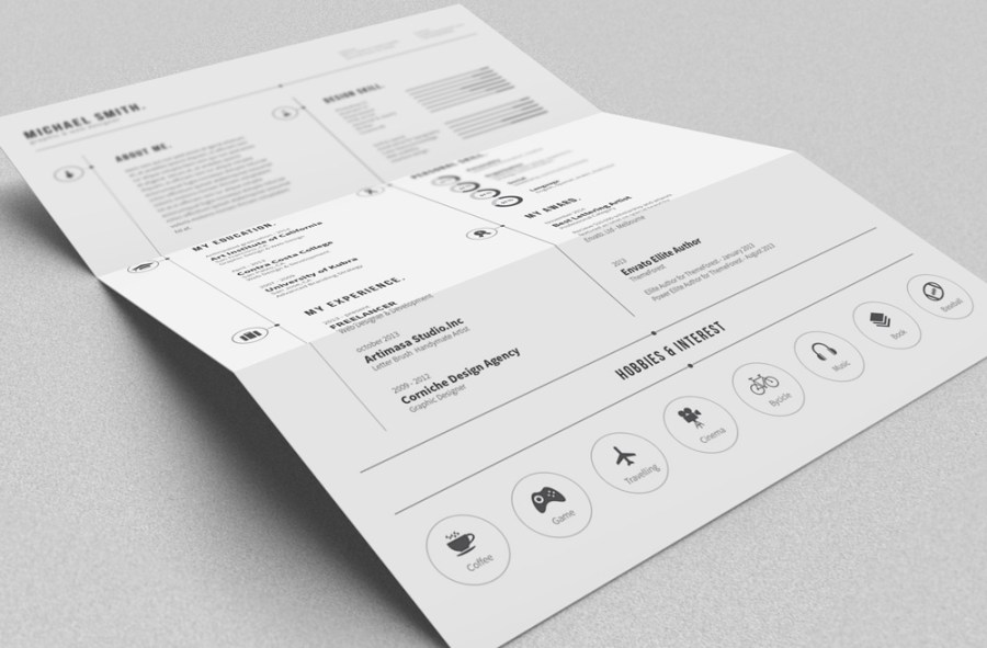 FREE Simple Resume on Behance
