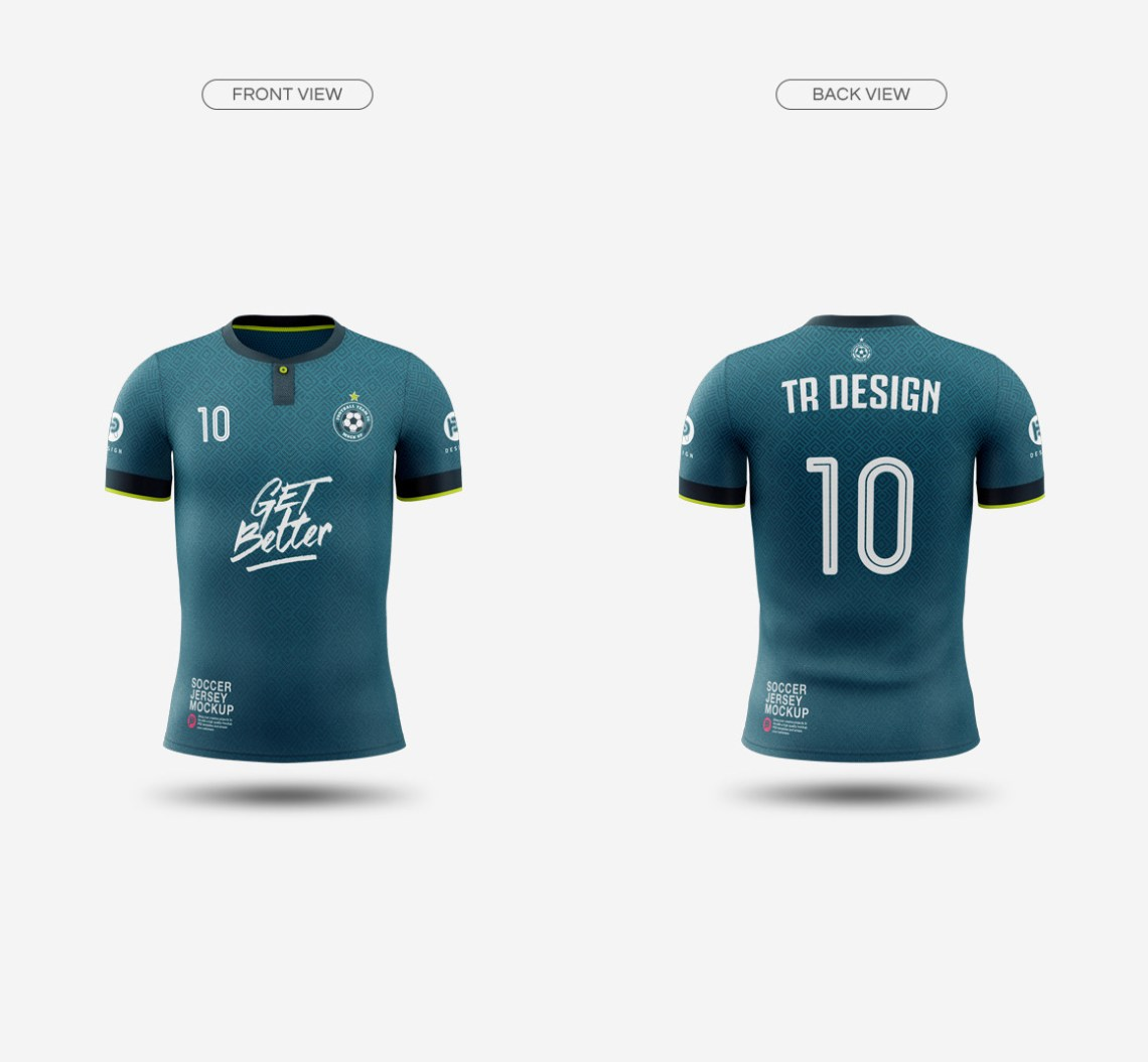 Download 27+ Mens Soccer Kit Mockup Front View Pictures ...