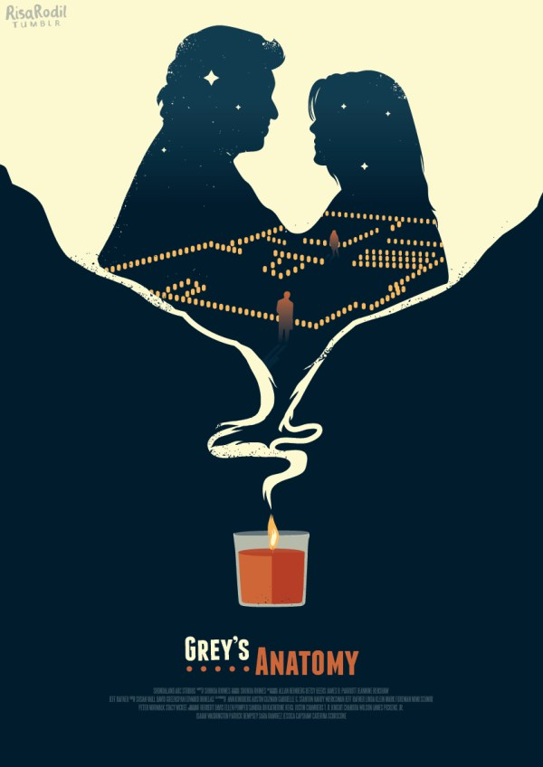 Grey's Anatomy Episode Posters on Behance